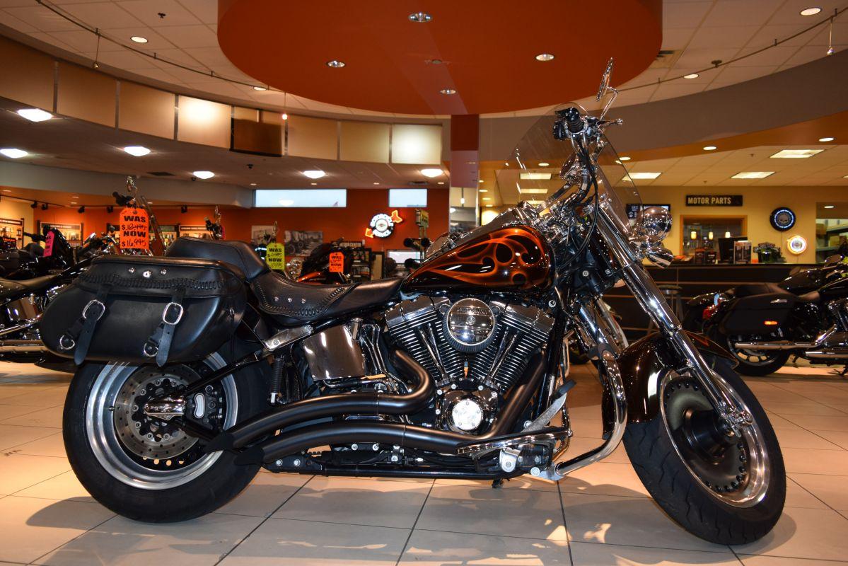 2007 Harley-Davidson Softail FLSTF Custom