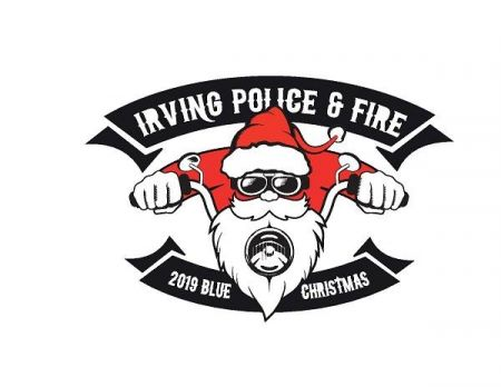 The First Annual Irving Police and Fire Blue Christmas Toy Run Starts @ American Eagle