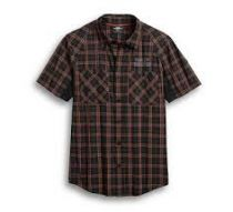 Harley Davidson Men's Performance Fast Dry Stretch Shirt