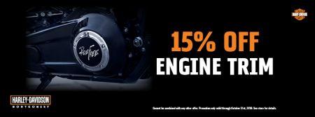 15% Off Engine Trim