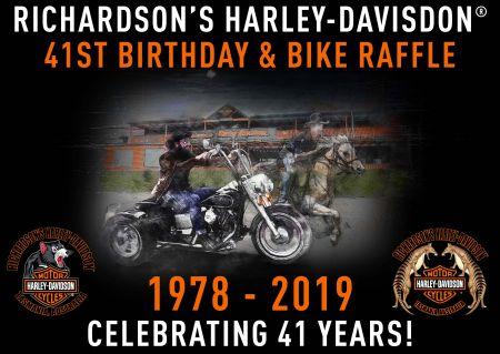 Celebrate 41 years of Richardson's Harley-Davidson