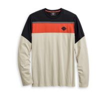 Harley-Davidson® Men's Performance Mesh Accent Long Sleeve Tee Product