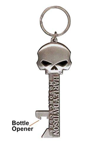 Willie G Skull Skeleton Key Bottle Opener Key Chain
