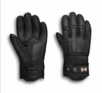 Men's Writ Perforated Leather Gloves