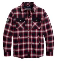 SHIRTJACKET-ARTERIAL,TEXTILE,PLAID PPE
