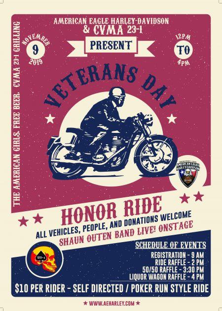 Veterans Honor Ride Presented By CVMA Texas Chapter 23-1