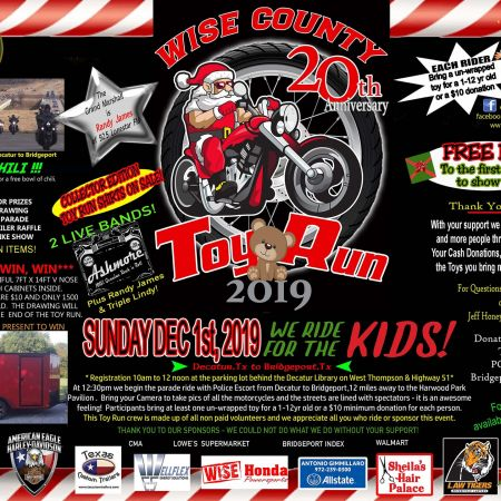 20th Annual Wise County Toy Run