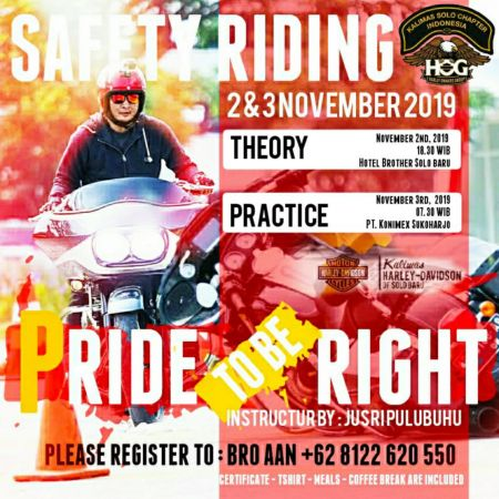 HOG Kalimas Solo Chapter Safety Riding