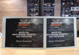 Harley-Davidson® Master Level Sales Certification