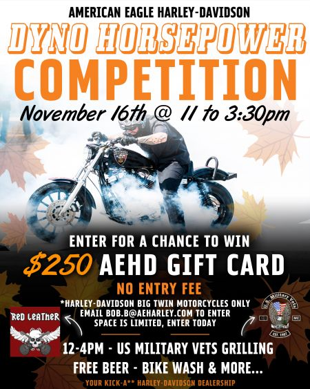 DYNO HORSEPOWER COMPETITION IS BACK...