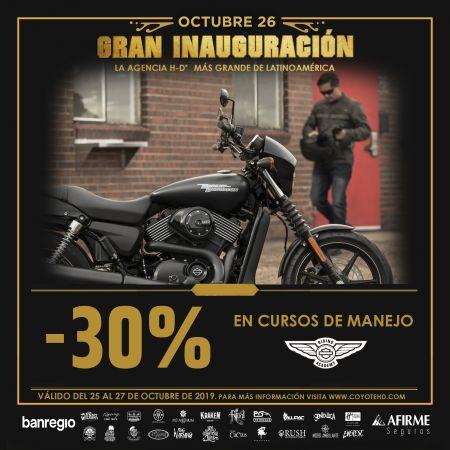 -30% EN CURSOS DE MANEJO