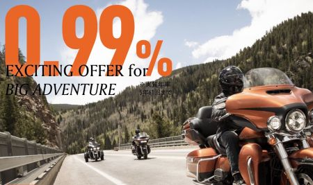 0.99% EXCITING OFFER for BIG ADVENTURE
