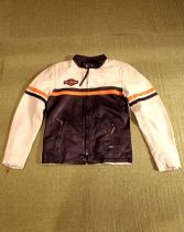 JACKET-#1 RACING,LEATHER,BLK
