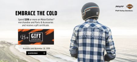 EMBRACE THE COLD - Gift Certificate with purchase of $250+