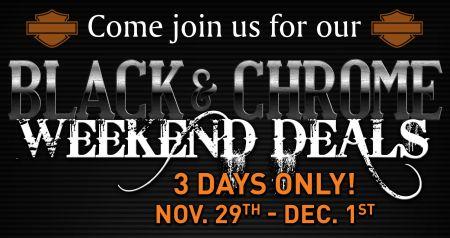 Black & Chrome Weekend