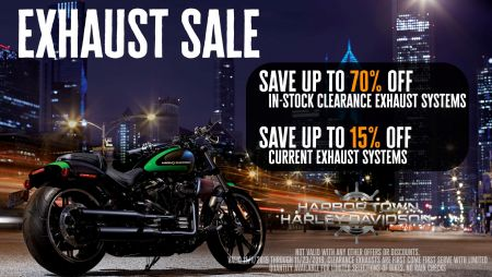 Exhaust Sale