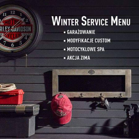 WINTER SERVICE MENU