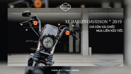 GIẢM GIÁ LÊN ĐẾN 40 TRIỆU ĐỒNG CHO CÁC MẪU MÔ TÔ HARLEY-DAVIDSON 2019