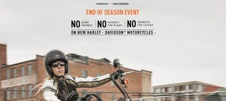 Triple No Motorcycle Promotion