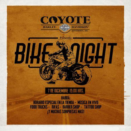 BIKE NIGHT COYOTE H-D®