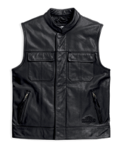 Men's Foster Leather Vest