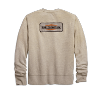 Harley-Davidson® Men's Canvas Patch Slim Fit Pullover