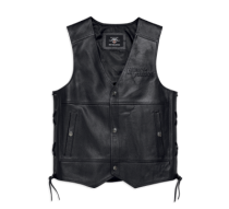 Men's Tradition II Leather Vest