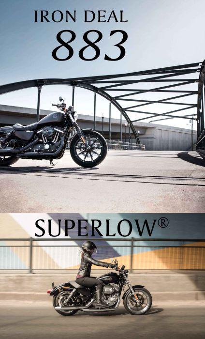 期間限定!2019年モデルIRON 883™とSUPERLOW®に88,300円の特別サポート!
