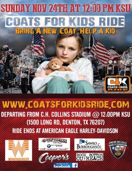 Coats4Kids Ride 2019