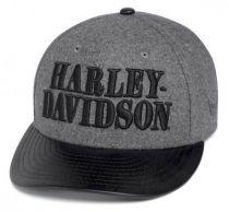Harley-Davidson®  Men's  Wool-Blend Adjustable Cap