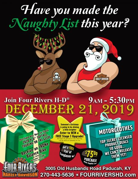 NAUGHTY LIST PARTY