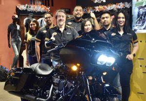 2020 Touring bikes reveal at Harley-Davidson of Manila BGC.
