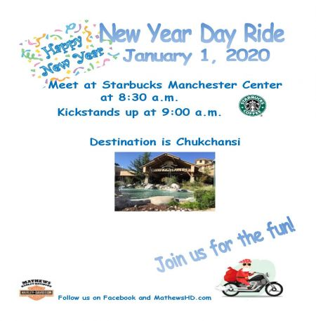 New Years Day Ride