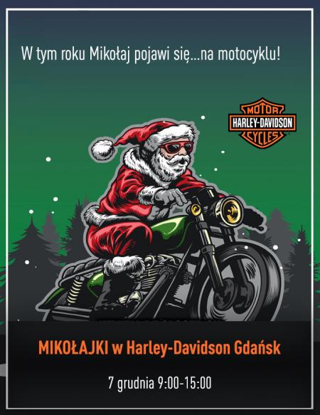 W tym roku Mikołaj pojawi się…na motocyklu!