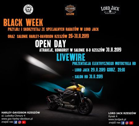 Black week & Open day