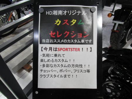 カスタムセレクション第2弾~スポーツスター編~