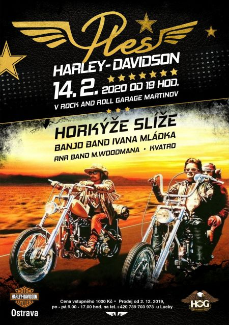 Ples Harley-Davidson Ostrava 2020