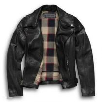 ALAMEDA LATHER BIKER JACKET
