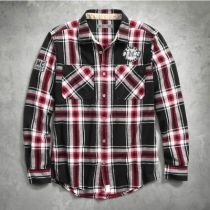 HDMC #1 PLAID SHIRT