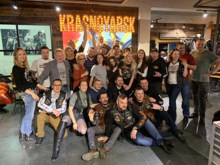 День Рождения Harley-Davidson Krasnoyarsk