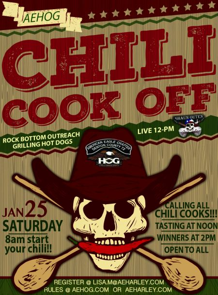 AEHOG Chili Cook Off!!