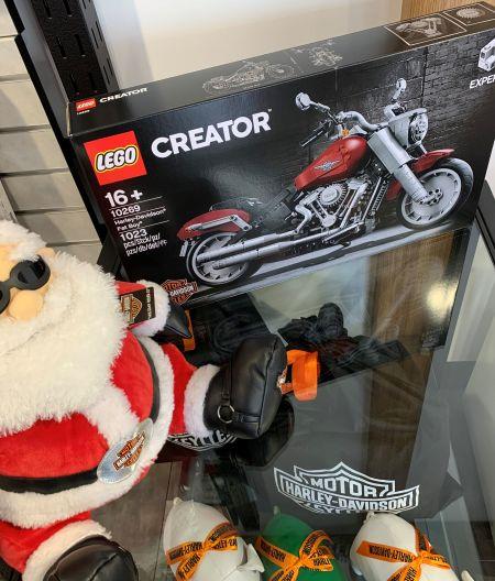 現物がついに来ました!レゴのハーレーダビッドソン