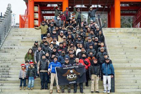 2020.2/23(日)に愛知チャプターツーリング開催!