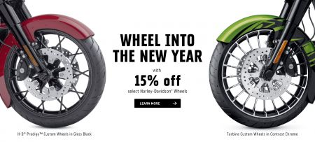 WHEEL INTO THE NEW YEAR