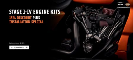 SCREAMIN' EAGLE® PERFORMANCE UPGRADES & INSTALLATION SPECIAL