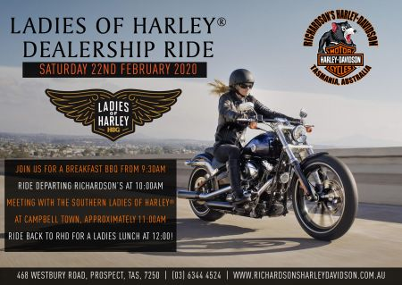 Ladies of Harley® Dealership Ride