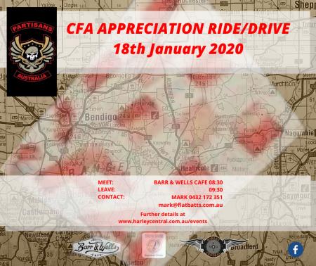 CFA Appreciation Ride/Drive