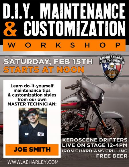 DIY & Customization Workshop
