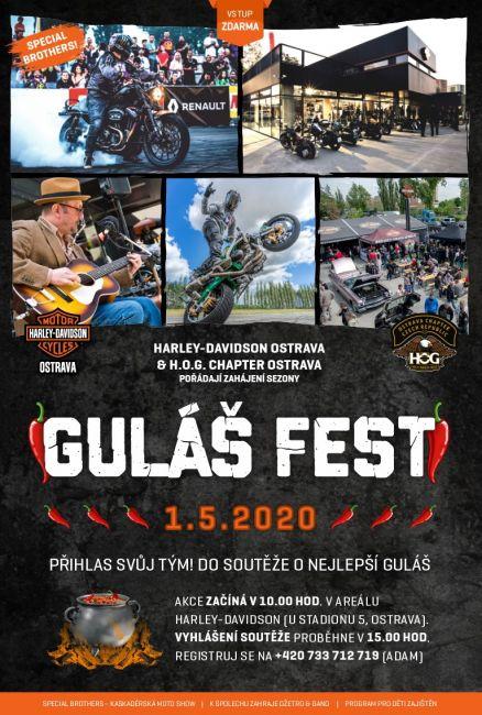 Guláš Fest 2020 Harley-Davidson-Ostrava