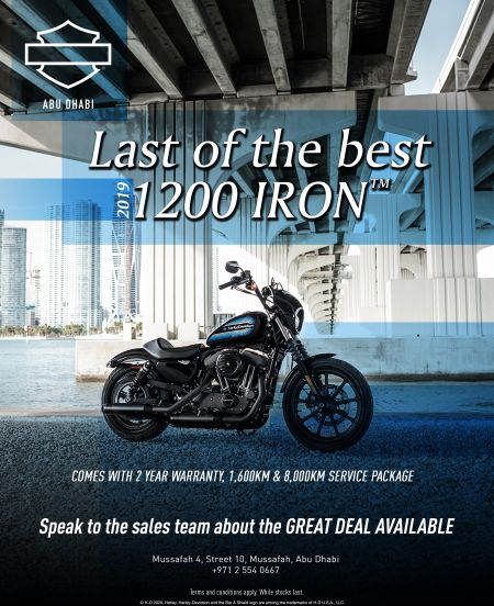 1200 IRON Promotion